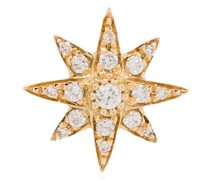 Mini 18kt 'Starburst' Gelbgoldohrring