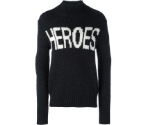 'Heroes' Wollpullover