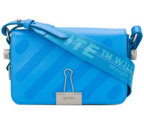 mini binder clip shoulder bag