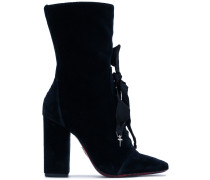 bow lace over the ankle boots