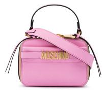 Pink Camera Logo Cross body Bag
