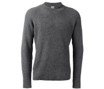waffle knit jumper