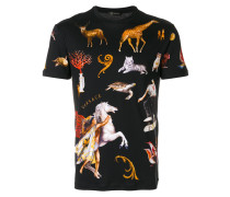 T-Shirt mit Animal-Print
