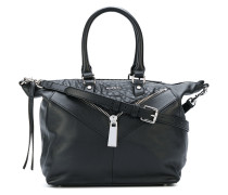 Handtasche mit Reißverschlussdetail
