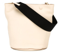 Handtasche mit Kontrasthenkel