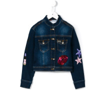 'Lucky One' Jeansjacke - kids