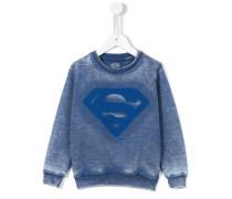 Sweatshirt mit Superman-Logo