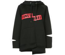 designer cut hoodie