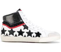 Sneakers mit Glitzer-Stern