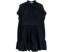 Ausgestelltes Kleid mit Volants