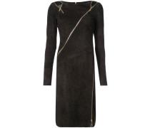 Kleid mit Reißverschlüssen