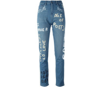 'Painted' Jeans