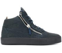 Kriss crocodile embossed sneakers