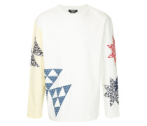 Sweatshirt im Patchwork-Design