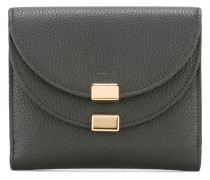 layered flap purse