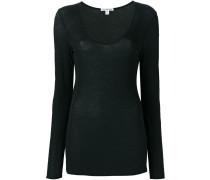 Jersey-Langarmshirt - women - Baumwolle - 2