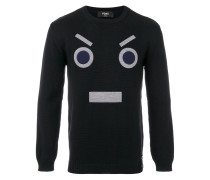 'No Words' Wollpullover