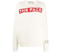 "Sweatshirt mit ""The Face""-Print"
