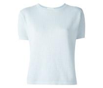shortsleeved knit top
