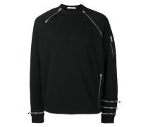 Sweatshirt mit Reißverschlüssen - men
