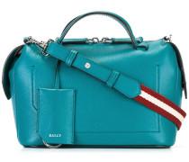 Handtasche mit gestreiftem Schulterriemen