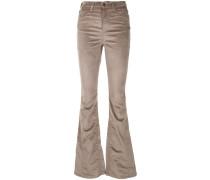 Schmal geschnittene Bootcut-Jeans