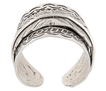 Versilberter 'Cancun' Ring