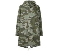 Parka mit Camouflage-Print - women - Baumwolle