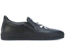- Sneakers mit Totenkopf-Applikation - men