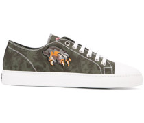 'Leo' Sneakers mit Camouflage-Print