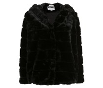 'Goldie' Mantel mit Faux Fur