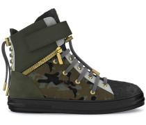 'Regent' High-Top-Sneakers mit Camouflage-Print