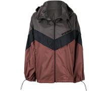 Oversized-Jacke in Colour-Block-Optik