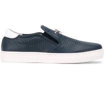 Teen embossed slip-on sneakers