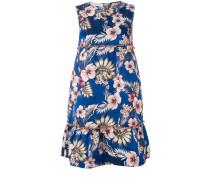 Minikleid mit Blumen-Print - women - Polyester