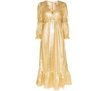 'Rosemary' Metallic-Kleid