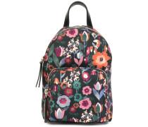 Rucksack mit Blumenmotiv
