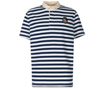 Gestreiftes Poloshirt