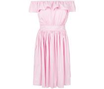 strapless design dress