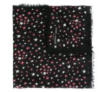 'Étoiles' large printed scarf