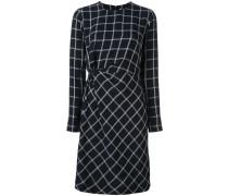 Figurnahes Kleid mit geometrischem Print