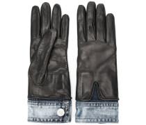 Handschuhe im Lagen-Look