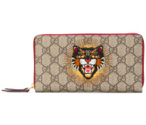 GG Supreme angry cat wallet