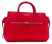 twin zip medium handbag - women