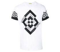 diamond check T-shirt