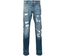 'Fukuko' Jeans mit geradem Bein