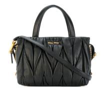 Handtasche in Knitteroptik