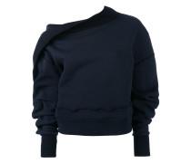 puff-sleeve sweater - women