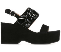 'Lily' Wedge-Sandalen