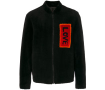 "Bomberjacke mit ""Love""-Patch"